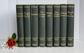 O'Henry Collection-Titles: Gentle Grafter - Heart of the West - Options- Rolling Stones - Roads...