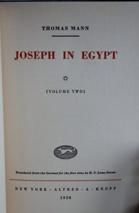 Joseph in Egypt, Joseph and His Brothers