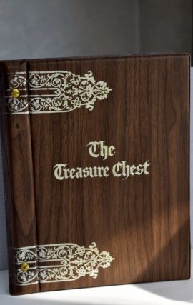 The Treasure Chest; a heritage album containing 1064 familiar and inspirational quotations,...