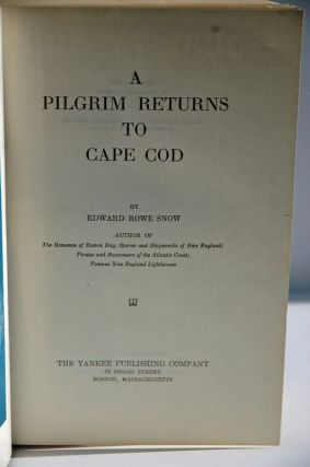A Pilgram Returns to Cape Cod