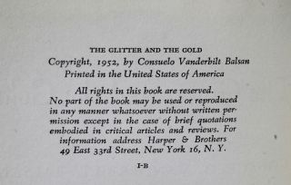 The Glitter And The Gold.
