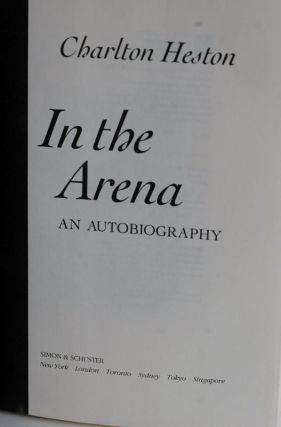 In The Arena An Autobiography